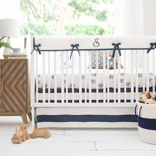 navy and gray arrow baby bedding navy crib bedding gray baby