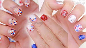 DIY Memorial Day Nail Art ☆ Three Cute & Easy Designs
