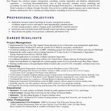 Technical Support Resume Samples New Summary Examples For Example