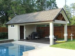 Harmonious Pool Pavilion Plans by Best 25 Outdoor Shelters Ideas On Lean To Roof