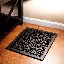 Decorative Air Return Grille by Oversized Victorian Bronze Floor Air Return Hardware