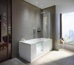 Badewanne Mit Dusche Duravit Walk In Dusche Und Badewanne In Einem Haustec