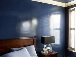 how to add a effect to walls with glossy paint hgtv
