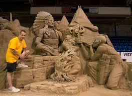 Ray Villafane Pumpkins world renowned artist carves pumpkin garden in carefree