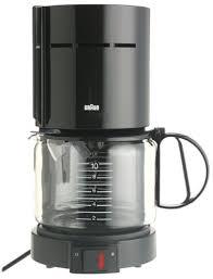 Braun KF400 BLK Aromaster 10 Cup Coffeemaker Black