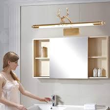 home led spiegel licht vintage badezimmer spiegelschrank
