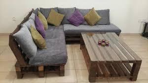Handmade Pallet Living Room Furniture Set