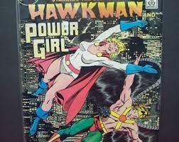 Vintage Comic Book Secret Origins 11 Starring Golden Age Hawkman Power Girl VG VFine Unread 1986 DC