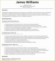 dental resumes samples sample resume dental assistant resume