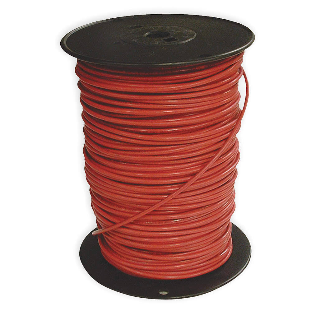 Southwire Company 22975701 Stranded Single Building Wire - THHN, 500', Red