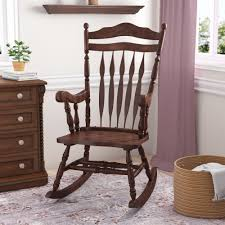 Darby Home Co Hanlon Rocking Chair & Reviews | Wayfair Early American Fniture And Other Styles How To Choose The Most Comfortable Rocking Chair The Best Reviews Buying Guide October 2019 Fding Value Of A Murphy Thriftyfun Beautiful Antique Edwardian Mahogany Rocking Chair Amazing Leather Seat H O W T Restore On Antique Shaker Puckhaber Decorative Antiques Era High Normann Cophagen 19th Century Caistor Chairs 91 For Sale At 1stdibs
