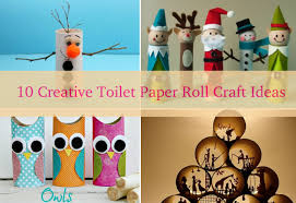 10 Creative DIY Toilet Paper Roll Craft Ideas