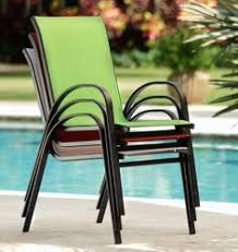 Sling Back Stackable Patio Chairs by Image For Mosaic Folding Sling Chair From Academy Outdoor
