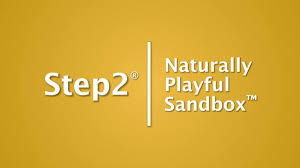 Step2 Tan 2 In 1 by Step2 Naturally Playful Sandbox Toys