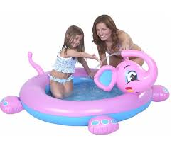 Amazon Kids Inflatable Elephant Water Splash Pool Only 995