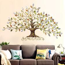 dorf eisen reiche baum einrichtungs wand hängen drei dimensional wohnzimmer wand dekoration ornamente eisen baum decor