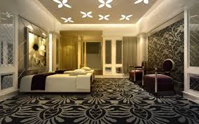 Spa Room With Aristocratic Carpet And Wall 3d Model Max