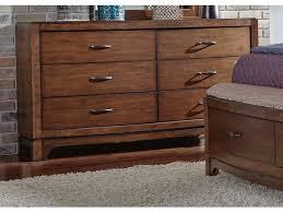 Liberty Furniture Bedroom 6 Drawer Dresser 705 BR31 Indiana