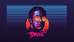 Ryan Gosling Drive Sunglasses New Retro Wave HD Wallpaper Desktop Background