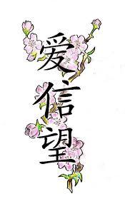 Faith Chinese Tattoo Design Photo 3