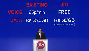 Reliance Jio launches cheapest 4G smartphone lowest 4G data plans