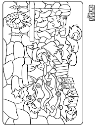 Colouring Pages Penguin Christmas Coloring Home