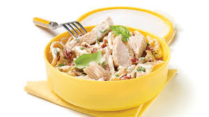 recette boursin cuisine poulet pâtes crémeuses au poulet recettes iga