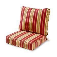 Chair Striped Patio & Garden Furniture Cushions