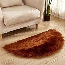 dhhy halbrund teppich plüsch teppich home wohnzimmer