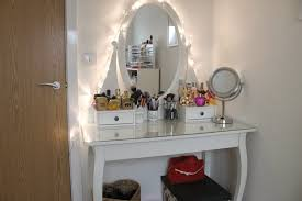 Bathroom Vanities With Dressing Table by Makeup Table With Lights And Mirror Square Shape Backless Chair