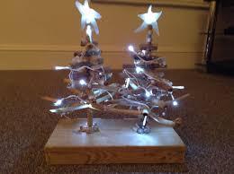 Driftwood Christmas Trees Cornwall by Nautical Driftwood Christmas Trees With Sea Glass Stars U0026 Fairy
