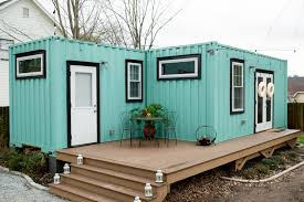 104 Steel Container Home Plans 480 Square Foot Backyard Shipping House Apartment Therapy