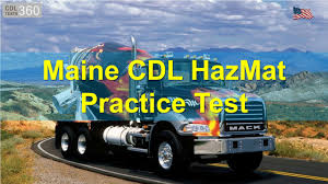 Maine CDL HazMat Practice Test - YouTube