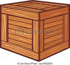 Wooden Box Vectors