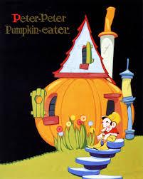 Peter Peter Pumpkin Eater Rhyme Free Download by Michael Sporn Animation U2013 Splog Vernon Grant U0027s Nursery