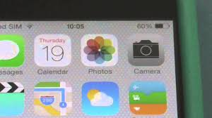 How to Set Battery Percentage reading on your iPhone with iOS 7