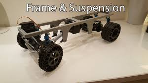 3D Printed RC Truck V3: Frame And Suspension - YouTube