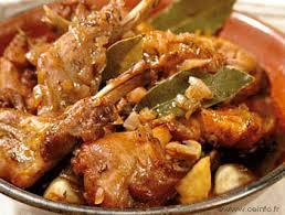 cuisiner du lapin facile lapin chasseur et ses pommes de terre recettes à base de lapin