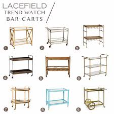 INSPIRED DESIGN Cocktail Hour Styled Bar Carts