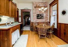 Classic Kitchen Design In Queen Anne Victorian House 114 Years Old