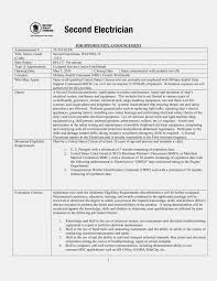 The Story Of Journeyman Electrician   Resume Information