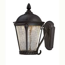 Home Decorators Collection Lighting by Home Decorators Collection Cottrell Aged Bronze Patina Outdoor Led