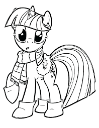Princess Twilight Sparkle Coloring Pages S My Little Pony Alicorn