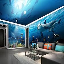 chambre dauphin sykdybz plat fond écran 3d marine tridimensionnelles salon canapé