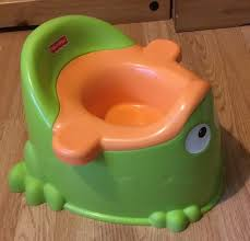 Frog Potty Seat With Step by Fisher Price Frog Potty In Sandwell West Midlands Gumtree