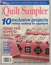 Quilt Sampler Magazine July 2002 Better Homes & Gardens Creative