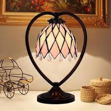 Home Depot Lampe Tiffany by Pink Small Tiffany Table Lamps Alloy Base Stained Glass Shade
