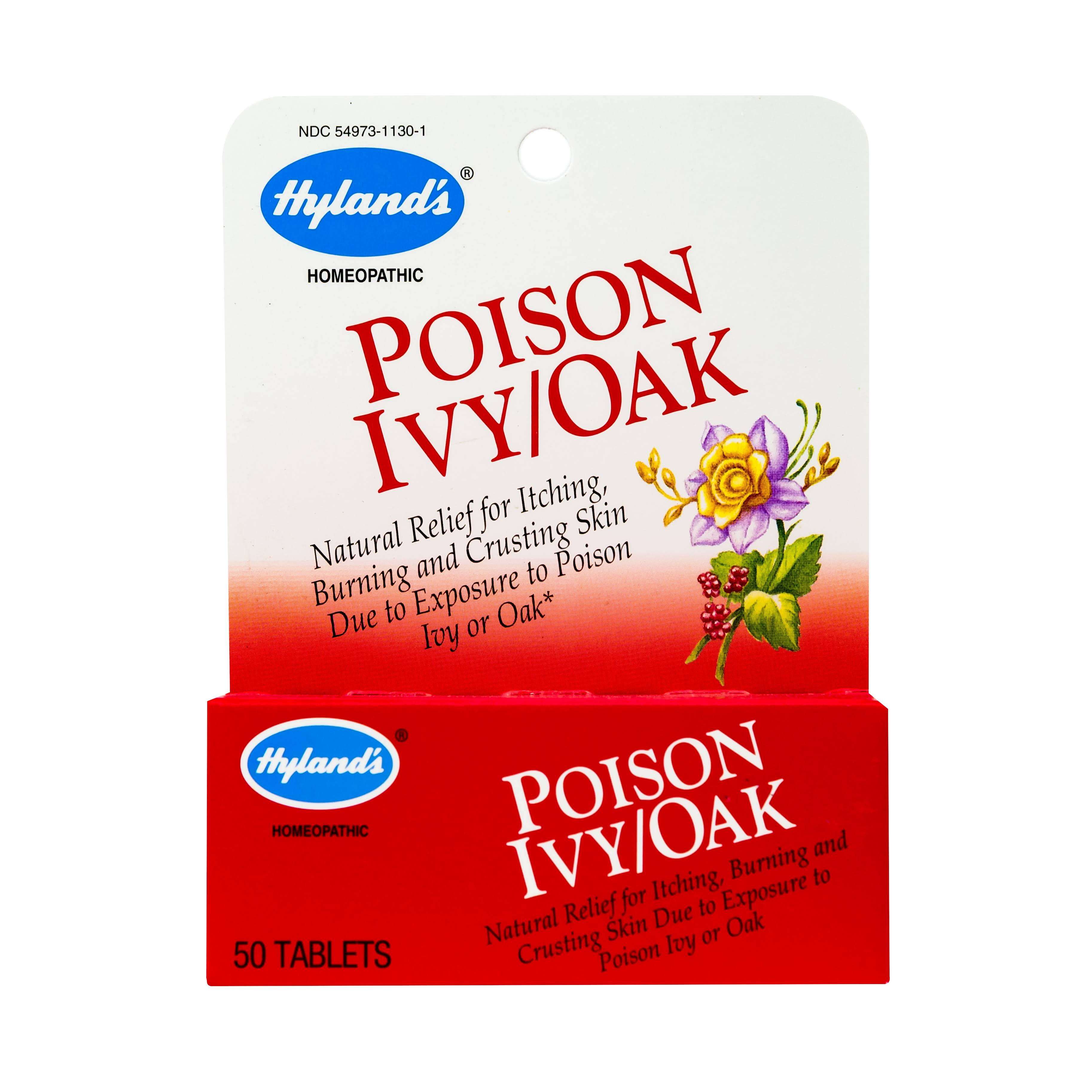 Hyland Poison Ivy Oak Pain Reliever - 50 Tablets