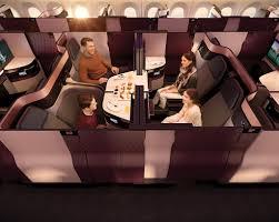 une chambre pour quatre l incroyable siège de la business class de qatar airways disponible
