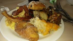 The Crystal Palace Poohs French Toast Hashbrowns Hash Eggs Bacon